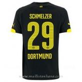 Vente Privée Maillot Borussia Dortmund Schmelzer Exterieur 2014 2015