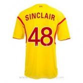 Vente Privee Maillot Liverpool Sinclair Exterieur 2014 2015
